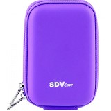 SDV Camera Pouch [SDV-7103] - Purple - Camera Compact Pouch